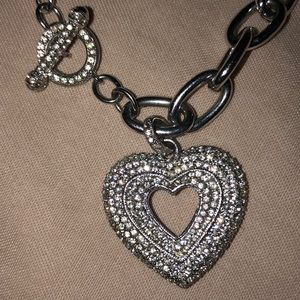 Sparkley/shiny hearty bracelet